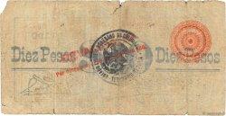 10 Pesos MEXIQUE  1913 PS.0555b pr.B