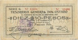 10 Pesos MEXIQUE  1913 PS.0555a B+