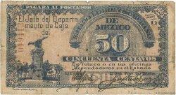 50 Centavos MEXIQUE Toluca 1915 PS.0879 pr.B