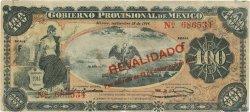 100 Pesos MEXIQUE  1914 PS.0708b TTB