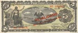 5 Pesos MEXIQUE  1914 PS.0702b SPL