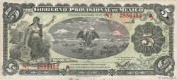 5 Pesos MEXIQUE  1914 PS.1104a TTB