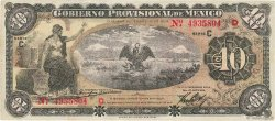10 Pesos MEXIQUE  1914 PS.1108a TTB