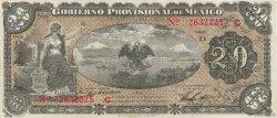 20 Pesos MEXIQUE  1914 PS.1110b TTB