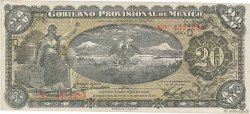 20 Pesos MEXIQUE  1914 PS.1111a TTB