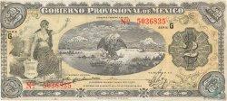 2 Pesos MEXIQUE  1915 PS.1103a TB+