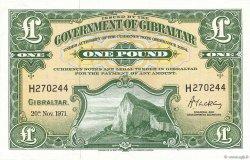 1 Pound GIBRALTAR  1971 P.18b pr.NEUF