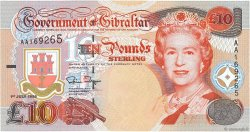 10 Pounds Sterling GIBRALTAR  1995 P.26a NEUF