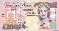 20 Pounds Sterling GIBRALTAR  2006 P.33a NEUF