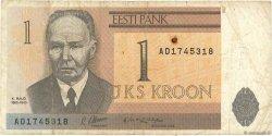 1 Kroon ESTONIE  1992 P.69a TB