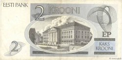 2 Krooni ESTONIE  1992 P.70a TTB