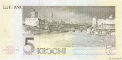 5 Krooni ESTONIE  1992 P.71b SPL