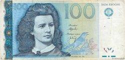 100 Krooni ESTONIE  1999 P.82a TB