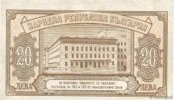 20 Leva BULGARIE  1950 P.079a SUP