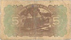 5 Leva BULGARIE  1922 P.034a B