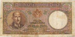 1000 Leva BULGARIE  1938 P.056a pr.TTB