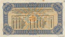 1000 Leva BULGARIE  1943 P.067I pr.TTB