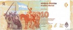 10 Pesos ARGENTINE  2016 P.360 NEUF
