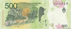 500 Pesos ARGENTINE  2015 P.New NEUF