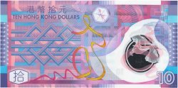 10 Dollars HONG KONG  2007 P.401b NEUF