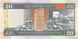 20 Dollars HONG KONG  1998 P.201d NEUF