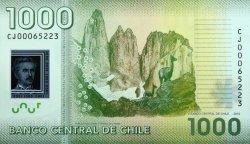 1000 Pesos CHILI  2012 P.161b NEUF