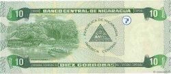 10 Cordobas NICARAGUA  2002 P.191 NEUF