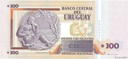 100 Pesos Uruguayos URUGUAY  2006 P.085A NEUF