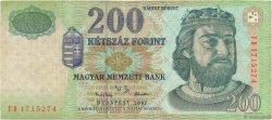 200 Forint HONGRIE  2001 P.187a TB
