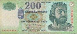 200 Forint HONGRIE  2002 P.187b TB