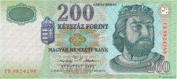 200 Forint HONGRIE  2002 P.187b NEUF