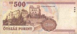 500 Forint HONGRIE  1998 P.179a TB