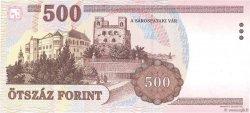 500 Forint HONGRIE  1998 P.179a SPL