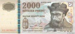 2000 Forint HONGRIE  1998 P.181a SPL