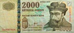 2000 Forint HONGRIE  2007 P.198a TTB