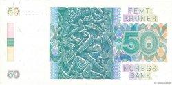 50 Kroner NORVÈGE  1989 P.42e pr.SUP