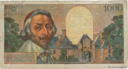 1000 Francs RICHELIEU  FRANCE  1956 F.42.24 TB