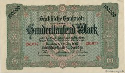 100000 Mark ALLEMAGNE Dresden 1923 PS.0960 SUP+