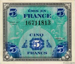 5 Francs DRAPEAU FRANCE  1944 VF.17.01 SPL