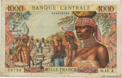 1000 Francs  EQUATORIAL AFRICAN STATES (FRENCH)  1963 P.05a