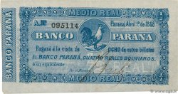 1/2 Real Boliviano  ARGENTINE  1868 PS.1811a SUP+