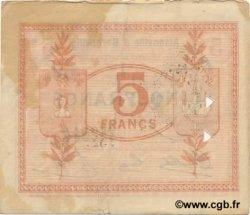 5 Francs FRANCE régionalisme et divers AISONVILLE ET BERNOVILLE 1917 JP.02-0004.SQG TTB
