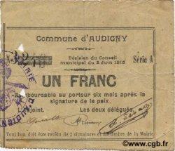 1 Franc FRANCE régionalisme et divers  1915 JP.02-0089 TTB