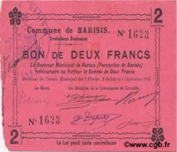 2 Francs FRANCE régionalisme et divers BARISIS 1915 JP.02-0117 TTB+
