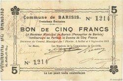 5 Francs FRANCE régionalisme et divers  1915 JP.02-0118 TTB+