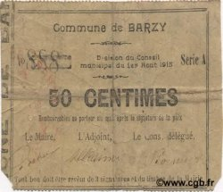 50 Centimes FRANCE régionalisme et divers  1915 JP.02-0122 TB