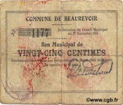 25 Centimes FRANCE régionalisme et divers  1914 JP.02-0136 TB