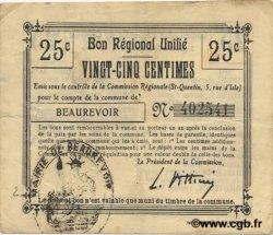 25 Centimes FRANCE régionalisme et divers  1916 JP.02-0154.BRU TB+