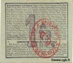 1 Franc FRANCE régionalisme et divers BEAUREVOIR 1916 JP.02-0155.SQG SUP