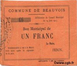 1 Franc FRANCE régionalisme et divers  1915 JP.02-0158 TTB